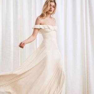 REFORMATION verbena dress sz 2 - wedding dress